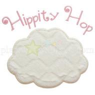 Hip Hop Bunny Tail Applique