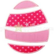Whimsical Easter Egg Applique