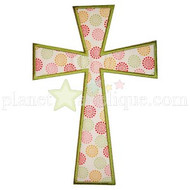 Cross Applique Design