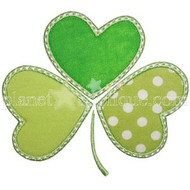 Whimsical Shamrock Applique