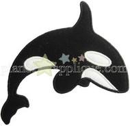 Killer Whale Applique