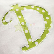 Reverse Applique Curlz Alphabet