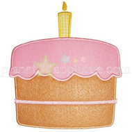 Birthday Cake Applique