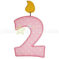 Birthday Numbers Set