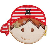 Pirate Boy Applique