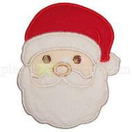 Santa Face Applique