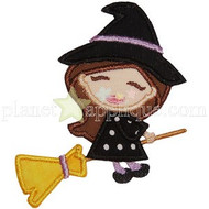 Witch Applique