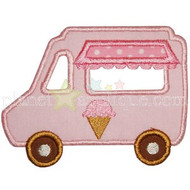 Ice Cream Truck Applique