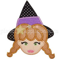 Witch 2 Applique