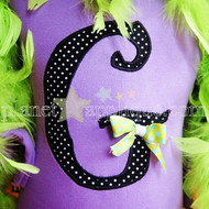 Wicked Applique Alphabet