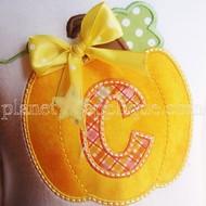 Double Pumpkin Alphabet
