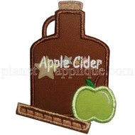 Apple Cider Applique