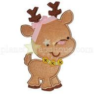 Cute Reindeer Applique
