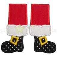 Santa Feet Applique
