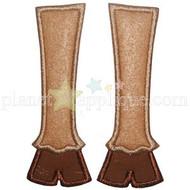 Reindeer Feet Applique