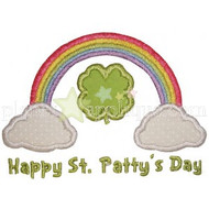 Shamrock Rainbow Applique