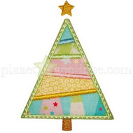 Patchwork Christmas Tree