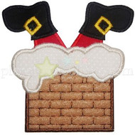 Down The Chimney Applique