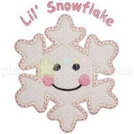 Lil Snowflake Applique