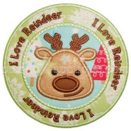 Reindeer Seal Applique