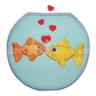 Fishbowl Love Applique