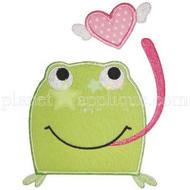 Froggie Love Applique