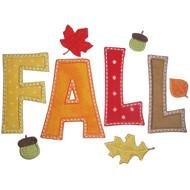 Fall Applique