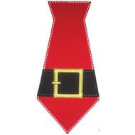 Santa Tie Applique