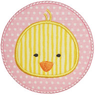 Circle Chick Patch