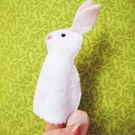 Easter Bunny Finger Puppet