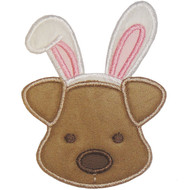 Easter Puppy Applique