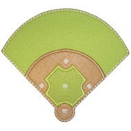 Baseball Diamond Applique