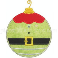 Elf Ornament Applique