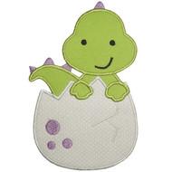 Dinosaur Egg Applique