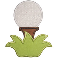 Golf Ball Applique