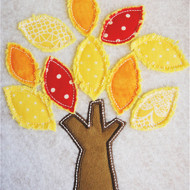 Shabby Tree Applique