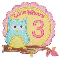 Owl Birthday Set