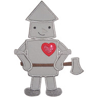 Tin Man Applique