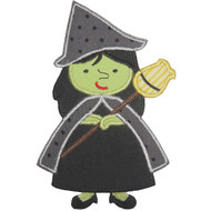 Wicked Witch Applique