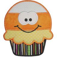 Candy Corn Cupcake