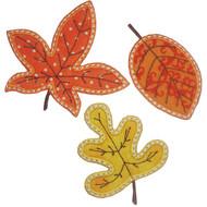 3 Leaves Applique