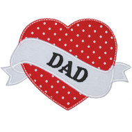Dad Tattoo Applique