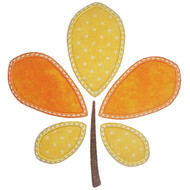 Pieced Leaf Applique