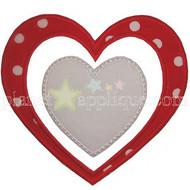 Double Heart Applique