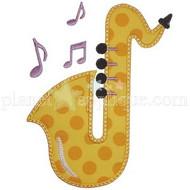 Saxophone Applique