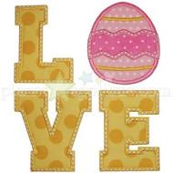 Easter Love Applique