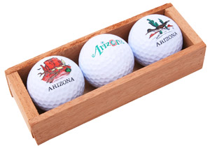 arizona golf ball promo gifts