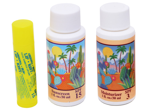 arizona outdoor sunscreen gift set