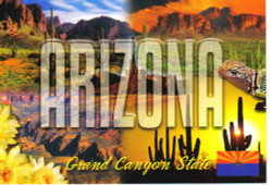 Colors of Arizona Postcard - Pack of 100