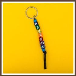 AZ Beads Keychain